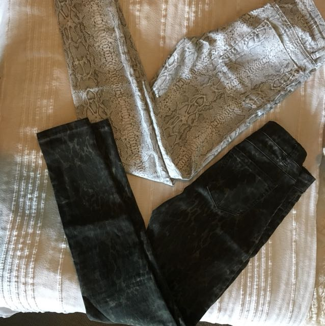 Printed jeans / jeggings