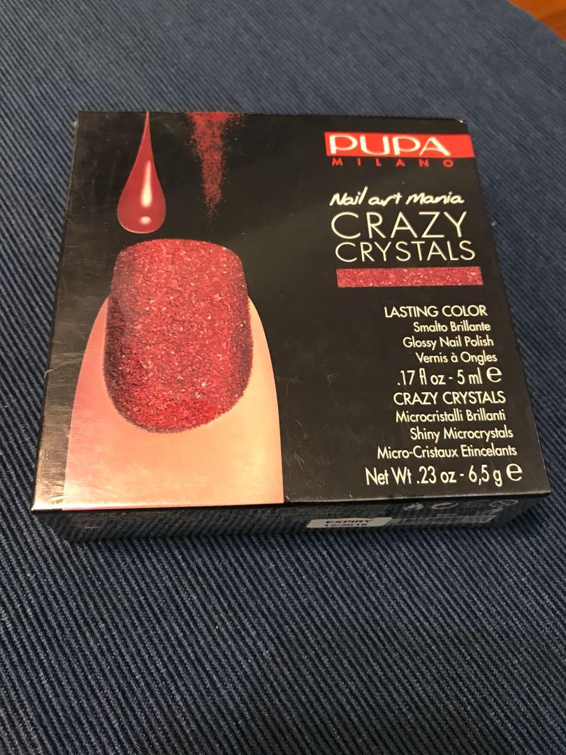 Pupa Milano Nail Art Mania Crazy Crystals, Health & Beauty, Hand ...