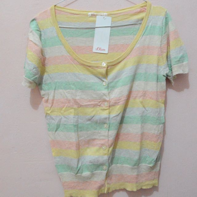 Rainbow Stripes Shirt