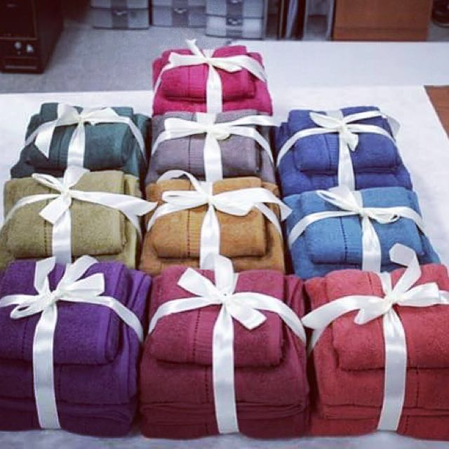 READY BANYAK!! PAKET HANDUK TOWEL ONE BY TERRY PALMER ISI 3 PCS