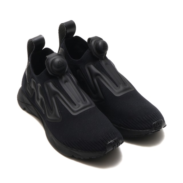 2851e405f35 Reebok Pump Supreme Ultraknit - Black   Black - UK11 (BS9521)