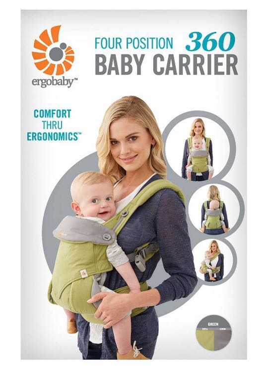 Reprice, Original ErgoBaby 360 (4 Position Baby Carrier)