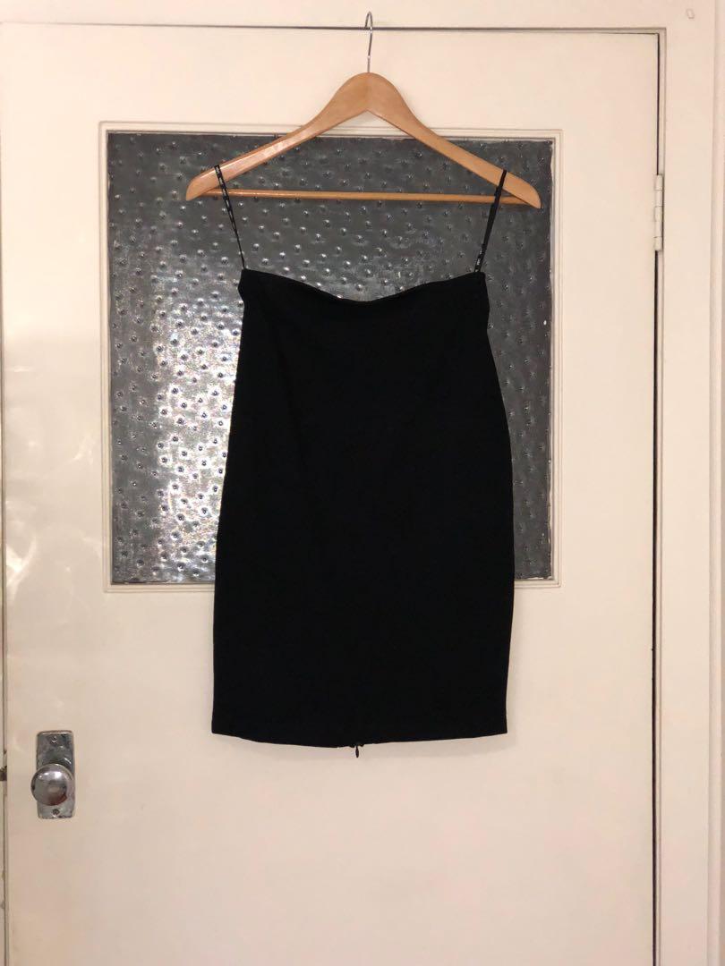 SABA black stretch skirt