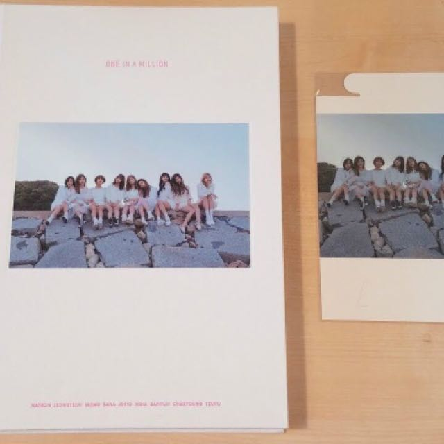 Sealed Instock Twice One In A Million Photobook Entertainment K