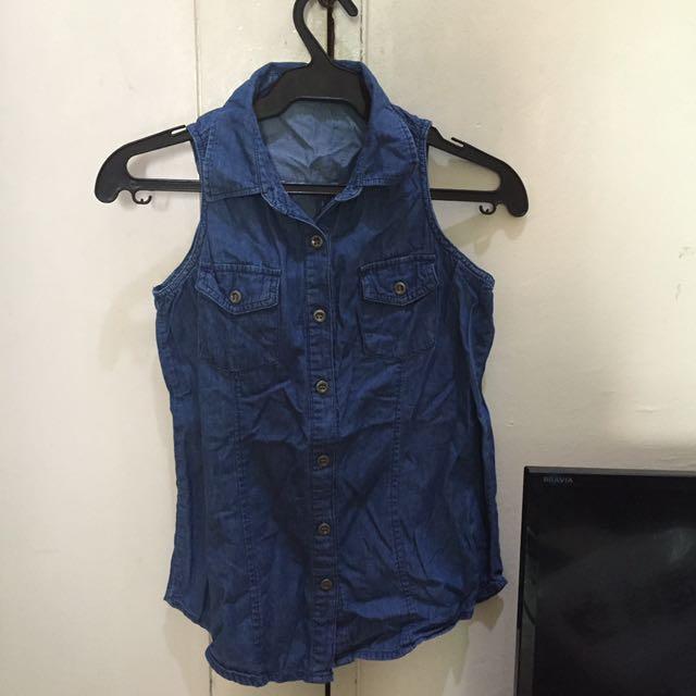 SM Woman Denim blouse