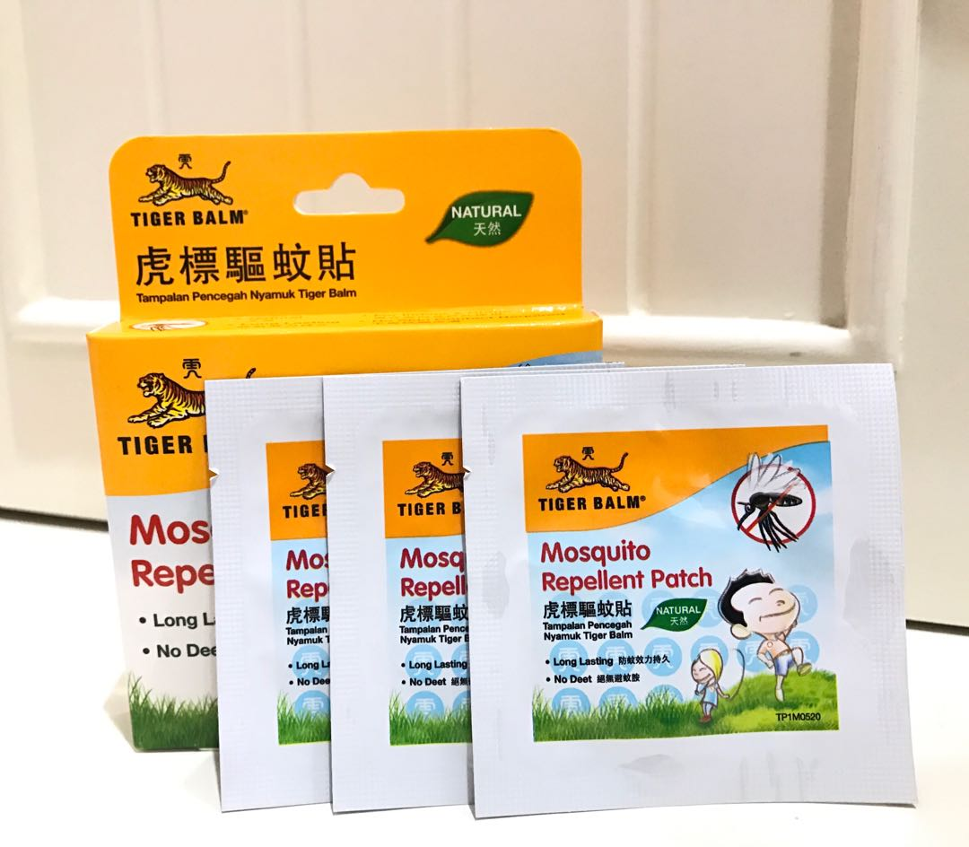 Stiker anti nyamuk Tiger Balm Mosquito repellent patch