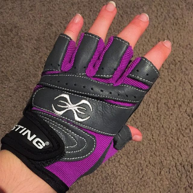 Sting Padded Weight Lifting Gloves