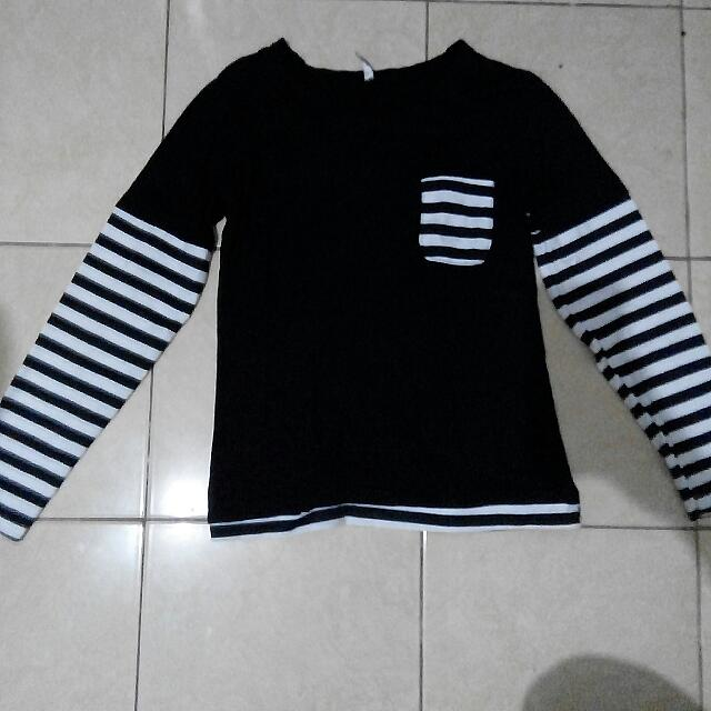 T Shirt Motif Garis