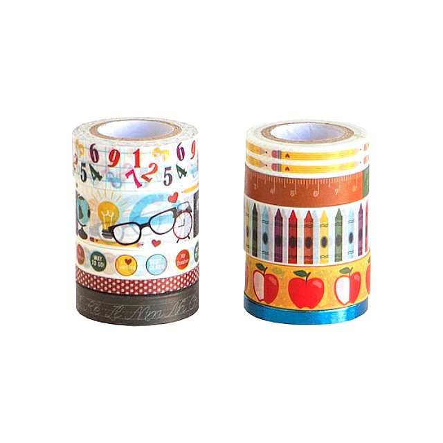 Teacher Washi Tube by Craft Smart