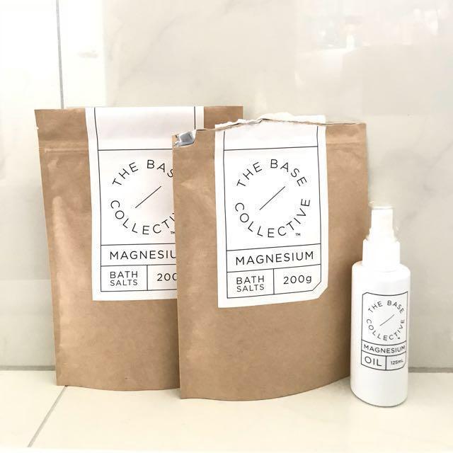 The Base Collective Magnesium Bath Salts + Oil