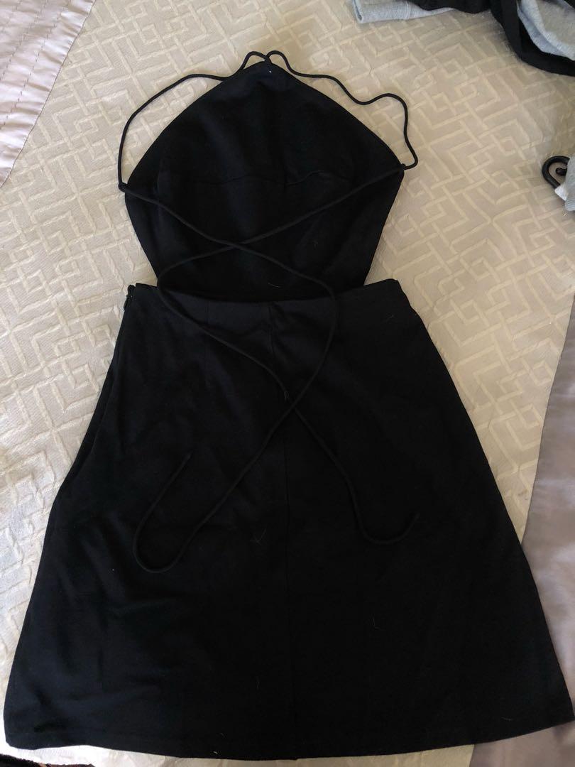 Tie up dress size S