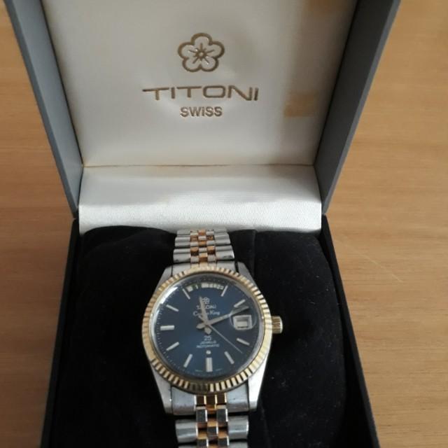 TITONI   SWISS