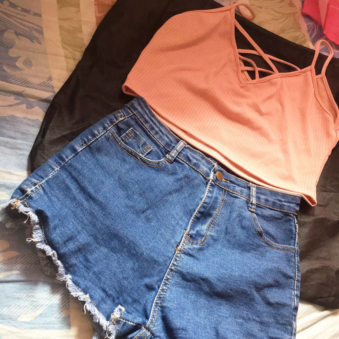 top and hw shorts bundle