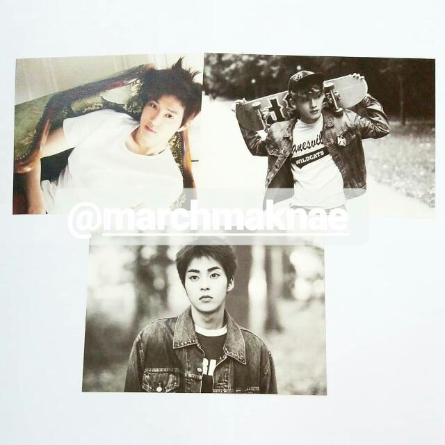 (ULTRA RARE) EXO Die Jungs Official Postcard