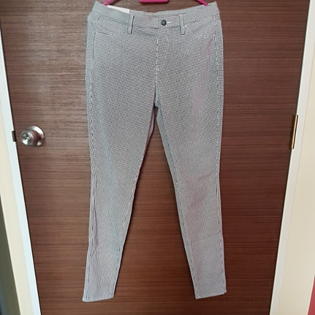 details for clearance Clearance sale Uniqlo White Legging Pants
