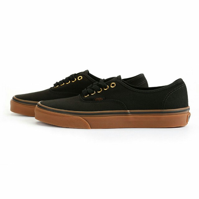 Vans Authentic Black/Rubber Classic