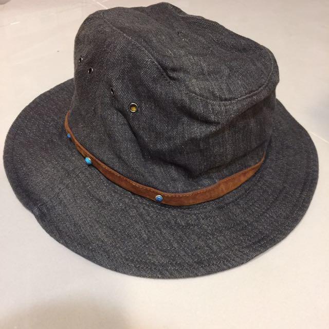 Vintage 寬簷漁夫帽