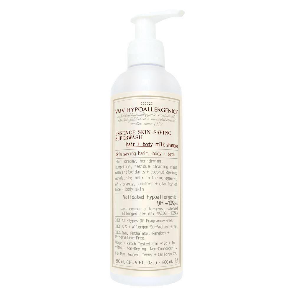 VMV Hypoallergenics Superwash Hair+Body Milk Shampoo