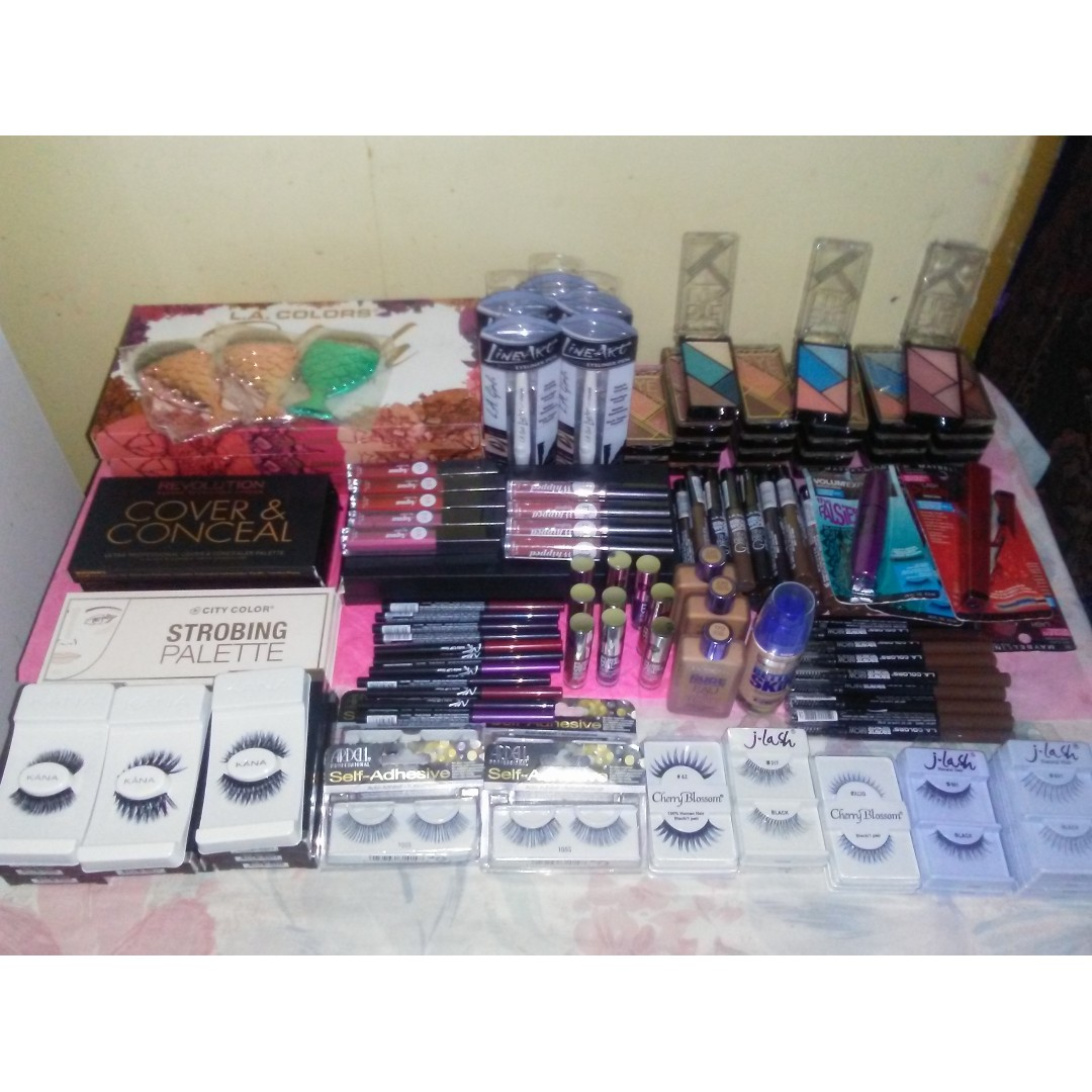 Wholesale makeup bulk