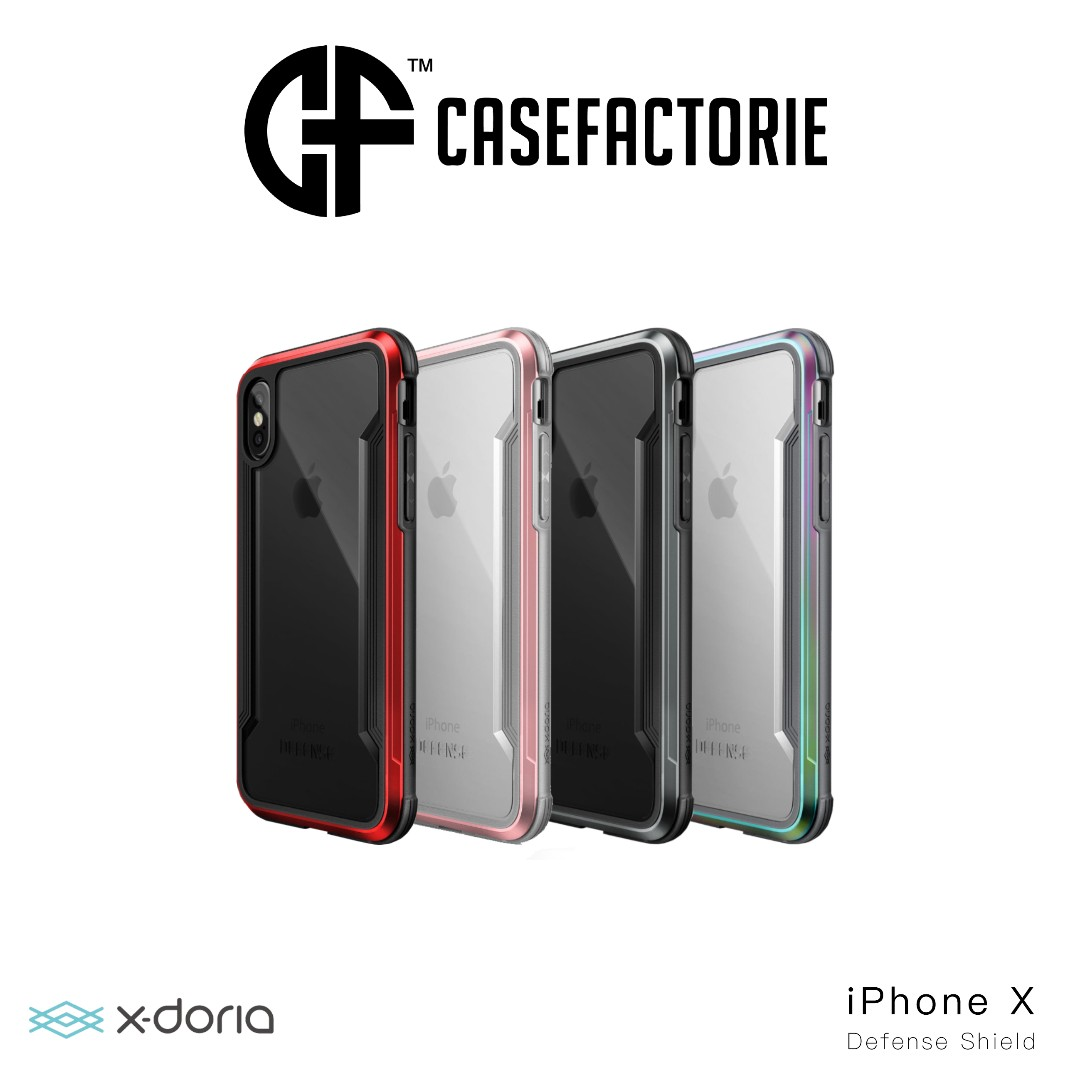 official photos 43894 2b775 X-Doria Defense Shield Case for iPhone X/Xs