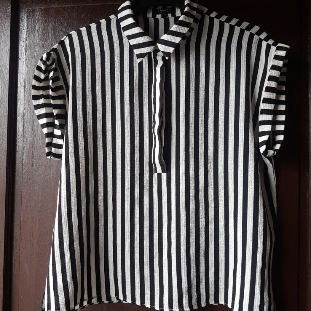 Zalora Rolled Sleeves blouse (LARGE) PRELOVED