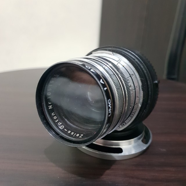Zeiss Opton Sonnar 50mm f/1.5 with nex adapter