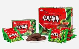 韓國西瓜味朱古力蛋糕