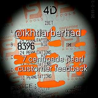 CENTIPEDE PEARL FEEDBACK