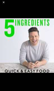 Jamie Oliver 5 Ingredients Cook Book