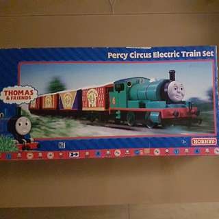 Percy circus electric train set