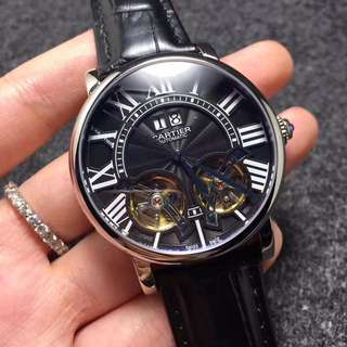CARTIER 2 TOURBILLION WATCH