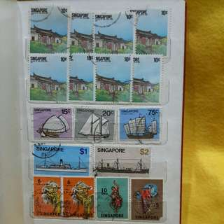 Singapore Stamps 1