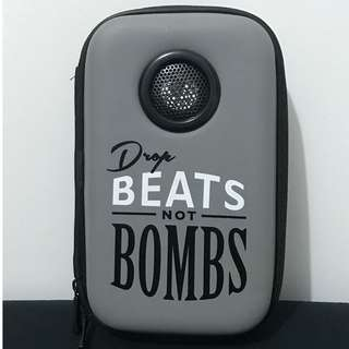 Typo - Portable Drop Beats not Bombs Speaker
