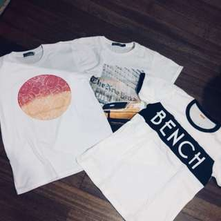 T shirts (different brands)