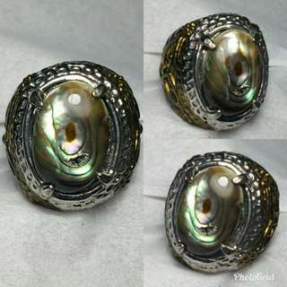 Abalone shell luster top