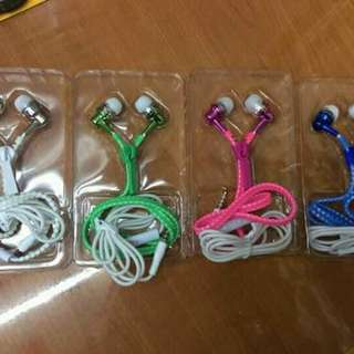 Universal Zipper Earphone
