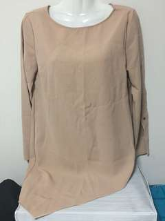 Basic brown nude colour top