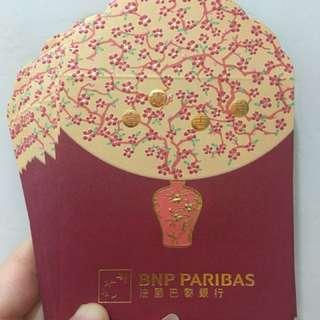 Bnp Paris 法國巴黎銀行利是封