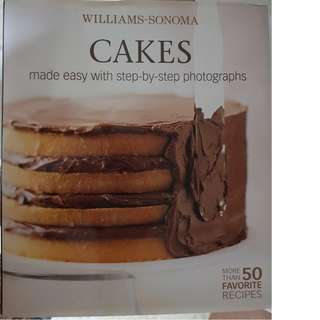 Baking Cakes Recipes (written by: Williams-Sonoma)