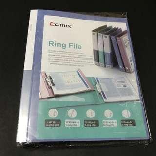包郵*A4 3 Rings folder file 3孔文件夾卡套卡頁快勞