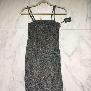 BRAND NEW Forever 21 Glitter Dress