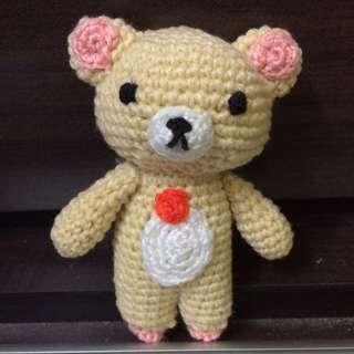 Korilakkuma amigurumi - Teddy bear