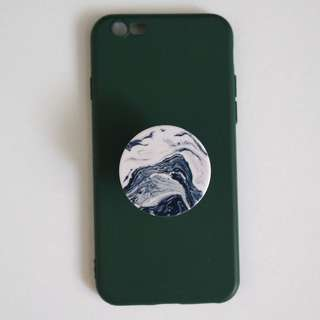 iPhone6/6s case with pop socket