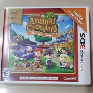 Animal Crossing Welcome Amiibo