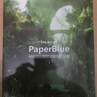 Art of Paperblue 1 - Jae-Chul Park (Korean ed 1st print)