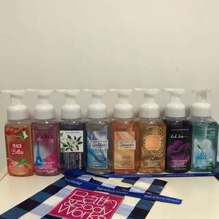 Brand New! Bath and Body Works Hand Soap - deep cleansing, gentle foaming, decorative hand soap