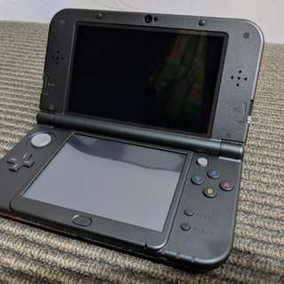 NEW Nintendo 3DS XL (Black) + Mint Condition + Hardly Used Set