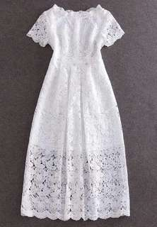 Brand new white lace dress, please refer to the listing for size available only XL. Other sizes had sold out!!