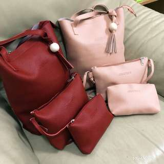 Set handbag 3 in 1