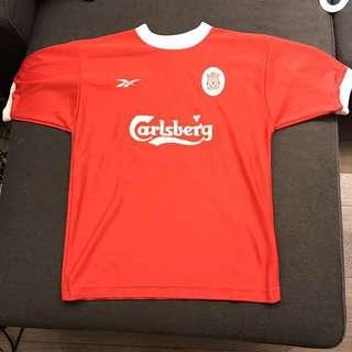 "Vintage Retro Liverpool 利物浦 football shirt 波衫 LFC 38""-40"" Reebok"